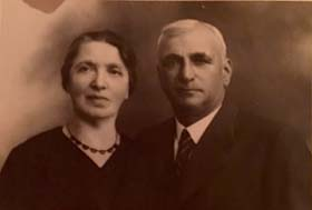 Rosa Weinstein née Netheim with her husband Hugo
